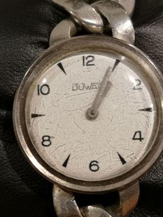 reloj de plata duward antiguo