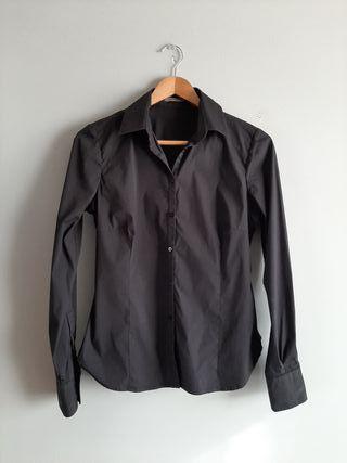 camisa negra uterque