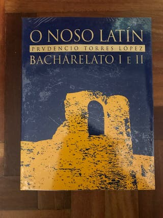 Libro latín 1º y 2º bachillerato