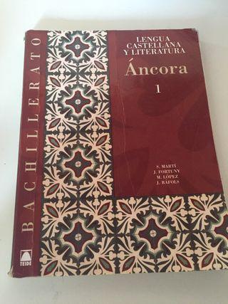 Libro Castellano 1r Bachillerato