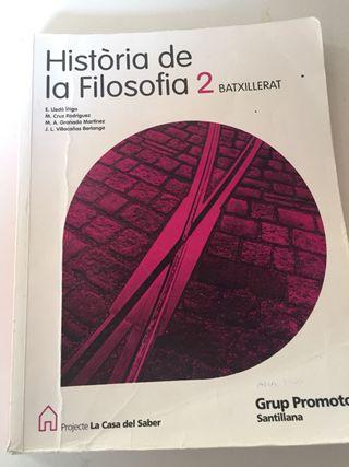 Libro de Filosofia 2n Bachillerato