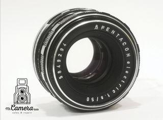 objetivo pentacon electronic 50mm 1.8f m42