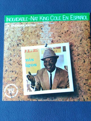 NAT KING COLE DISCO LP VINILO