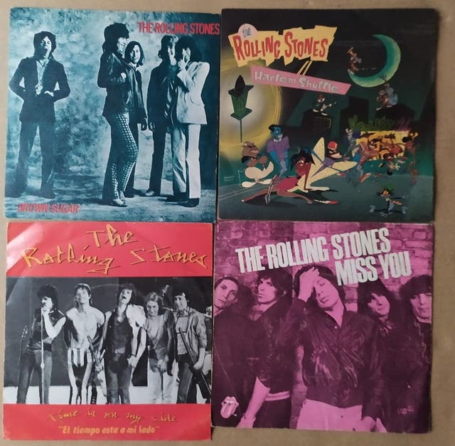 Discos de vinilo Single The Rolling Stones