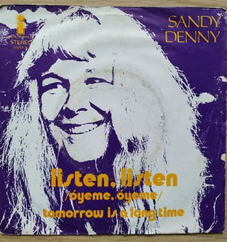 Disco de Vinilo Single Sandy Denny. Óyeme Oyeme