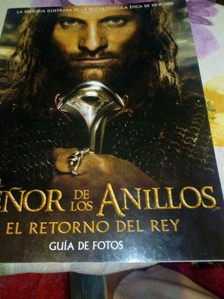 libro fotos el señor de los anillos