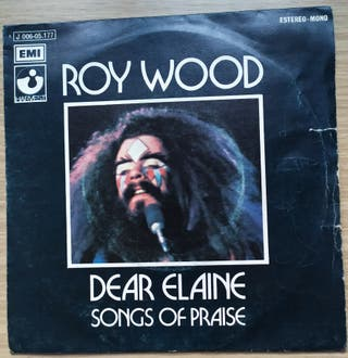 Disco de Vinilo Single Roy Wood Dear Elaine