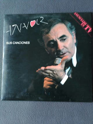 AZNAVOUR DOBLE LP VINILO
