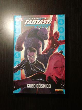 ultimate fantastic four : cubo cósmico