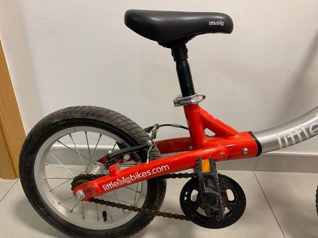 Bicicleta Little big bike evolutiva de 2 a 7 años