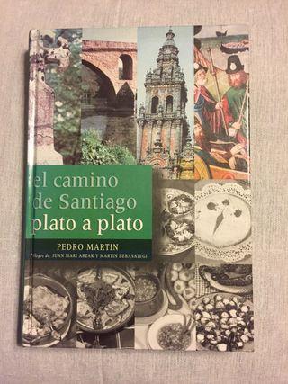 Libro de cocina camino De Santiago plato a plato