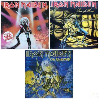 discos vinilo de IRON MAIDEN