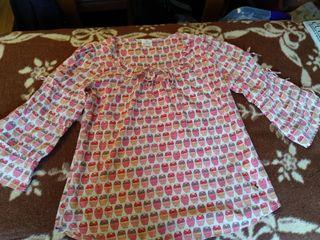 Camisa nueva tejido fluido