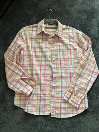 Camisa cuadros mujer