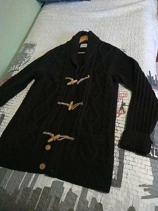chaqueta jersey talla L hombre pull & bear