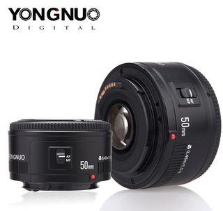 YONGNUO lente YN50mm