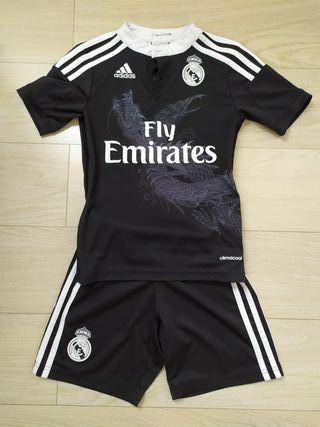 Real Madrid 7-8 años color negro