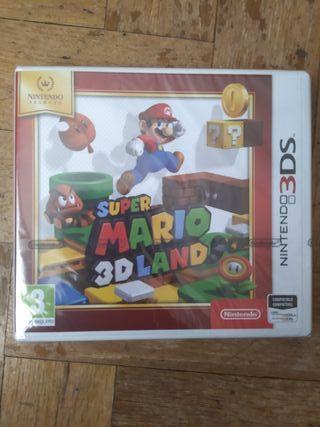 super mario 3d land Nintendo 3ds precintado