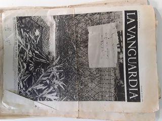 La Vanguardia lote 1936 ,
