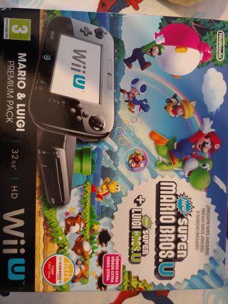 Wii u 32 Gb, Pack completo + 23 juegos originales