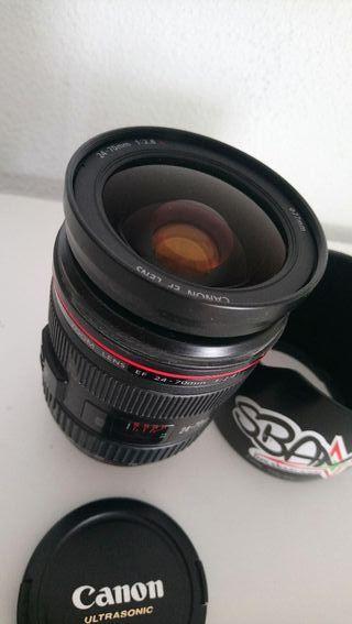 Cámara Canon 7d mark II + lentes