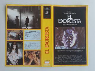 """Carátula VHS """"El Exorcista"""""""