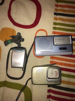 3 radios