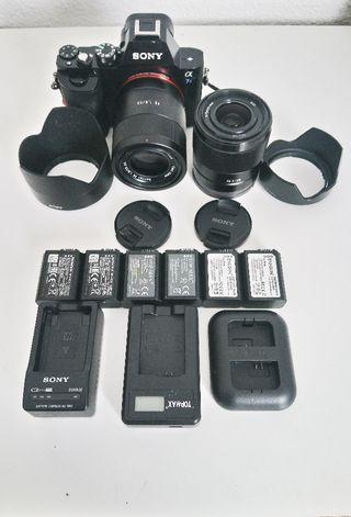 Cámara Sony A7s + kit