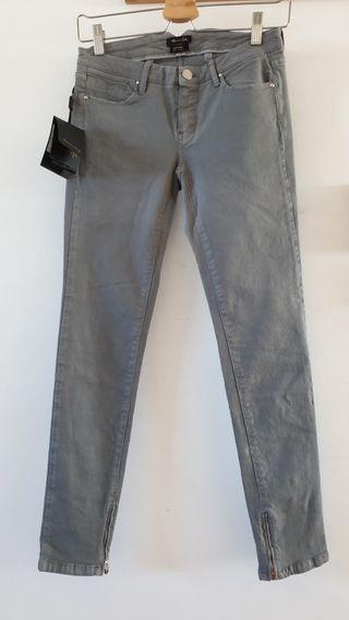 Pantalón vaquero slim de Massimo Dutti T34
