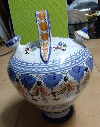 botijo grande de cerámica