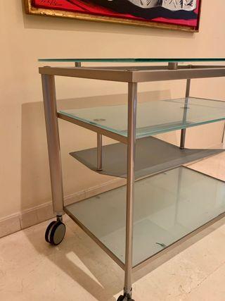 Mesa de TV de Cristal templado