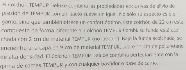 SOMIER MANDO A DISTANCIA. COLCHON TEMPUR