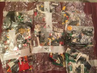 Lote 10 bolsas de Lego sin abrir