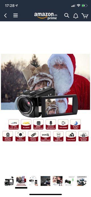 Videocámara Digital Full HD 1080P 60FPS WiFi