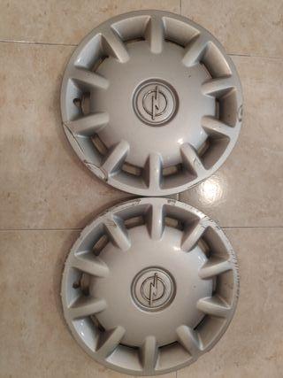 2 tapacubos 14 pulgadas Opel Astra G usados