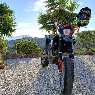 KTM 450 EXC six days 2009
