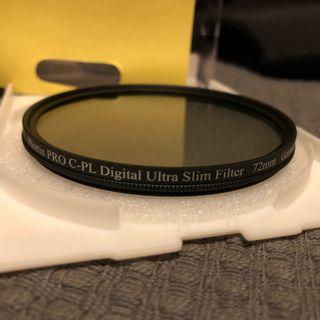 Filtro 72mm polarizador