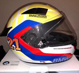 Casco BMW race carbono