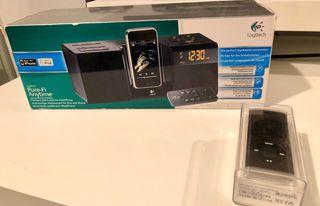 iPod Nano 16gb 4gen + dock Logitech