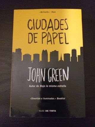 ciudades de papel jhon green
