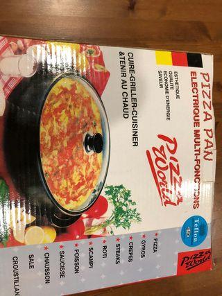 sartén eléctrica multifuncional Pizza Pan 30 cm