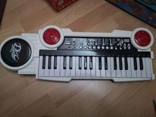 órgano musical piano infantil