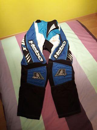 Pantalon Traje Motocross Hebo Talla M
