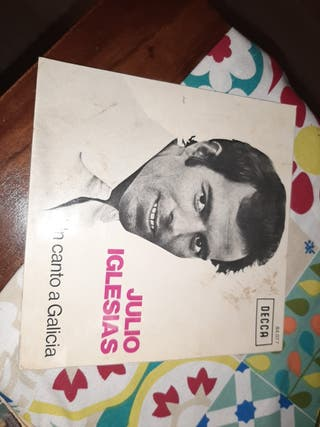 Vinilo single Julio Iglesias