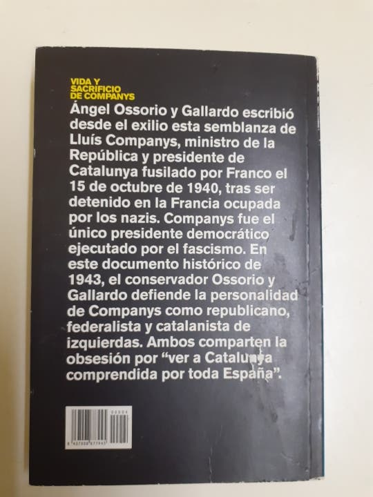 VIDA Y SACRIFICIO DE COMPANYS