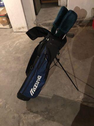 Medio juego palos golf mujer Mizuno