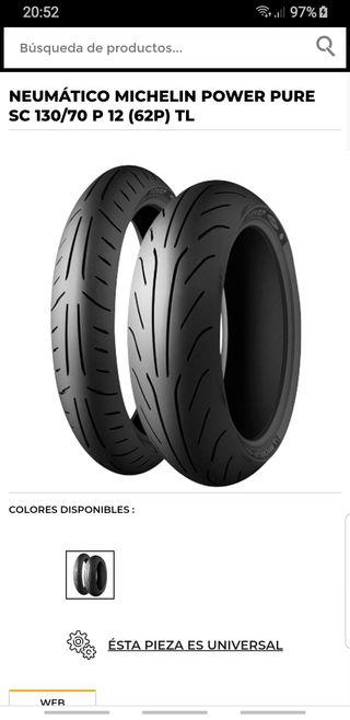 neumáticos motos segunda mano