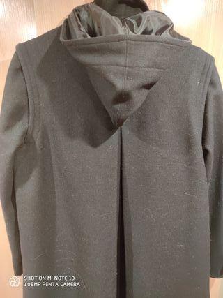 Abrigo colegial tipo Loden talla 12.