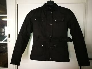 chaqueta cazadora de mujer para moto,tipo belfast