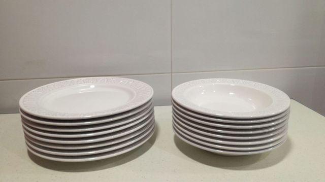 Zara Home platos porcelana.Estilo en tu mesa.